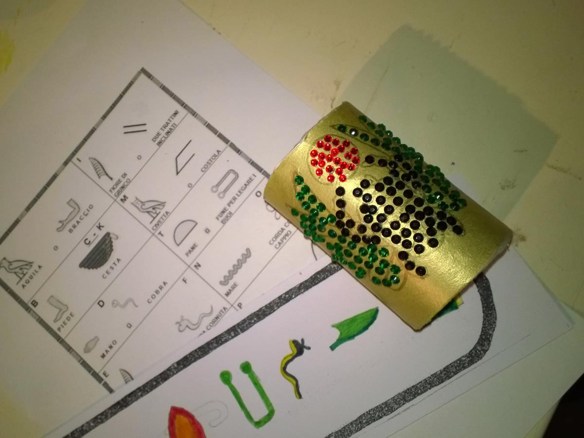 I gioielli del Nilo progetto kids
