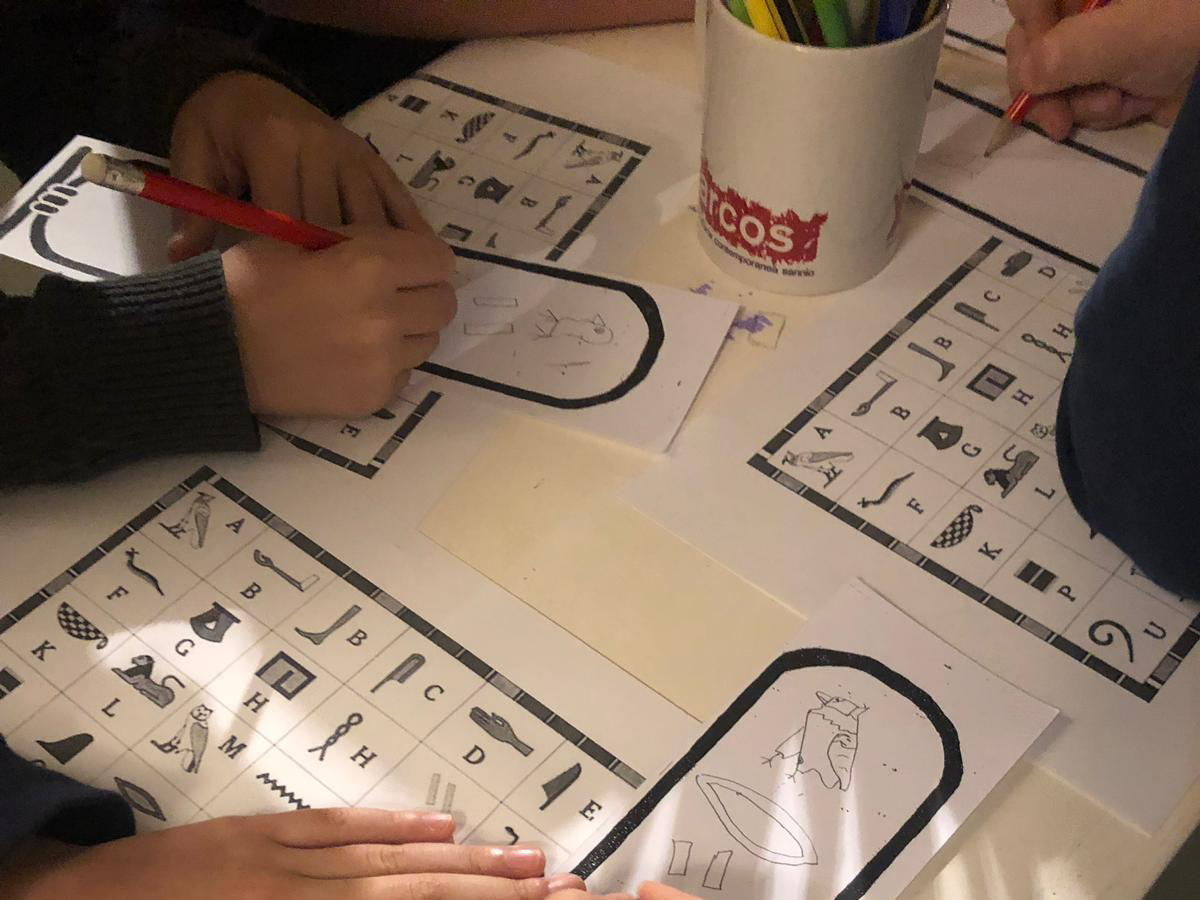 Vita da Scriba progetto kids