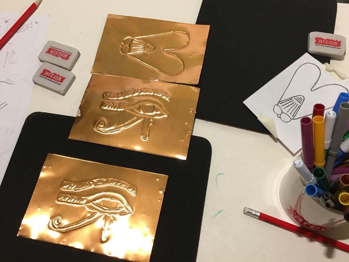 Simboli sacri egizi progetto kids